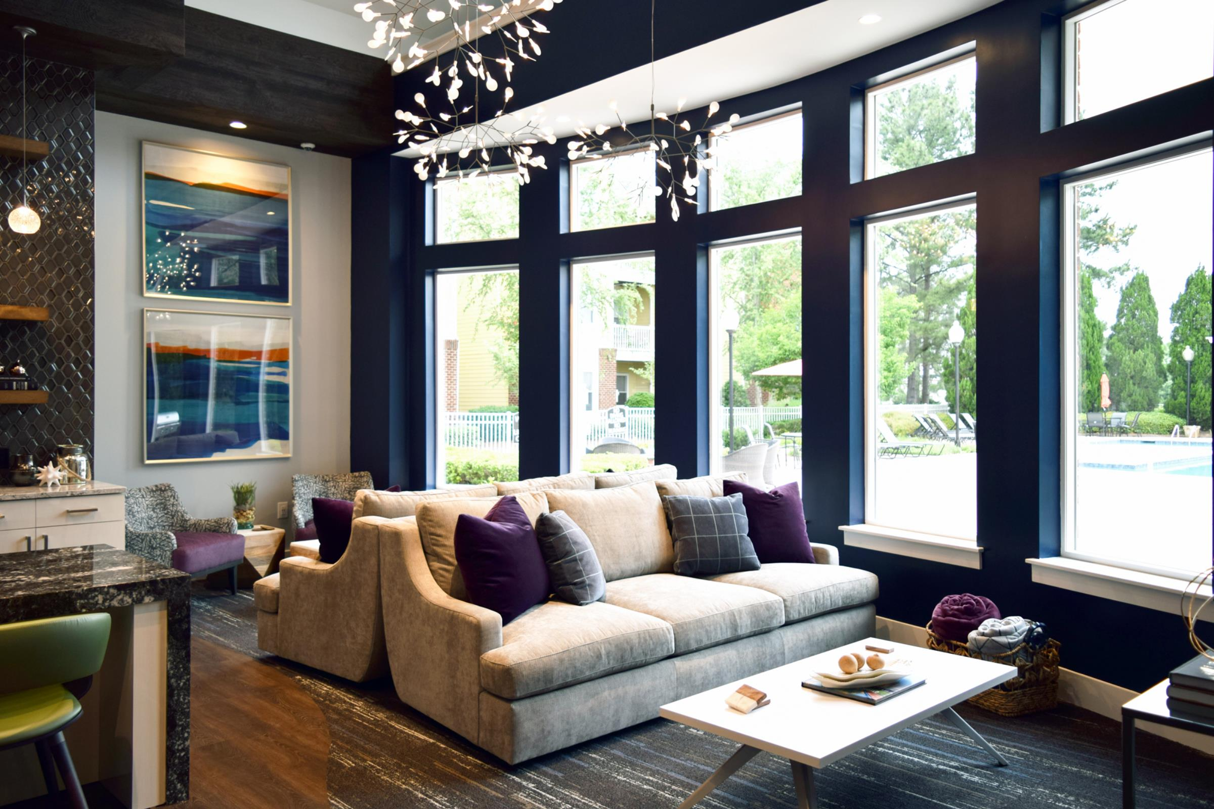 Awesome Interiors Bexley Clubhouses Overcash Demmit Architects Spiritservingveterans Wood Chair Design Ideas Spiritservingveteransorg